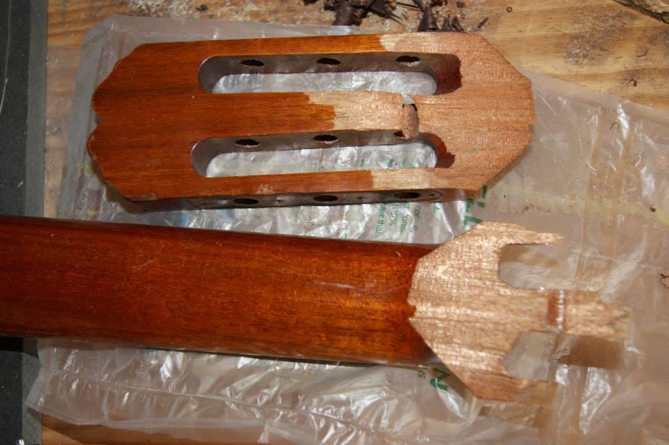 restauration guitares cordes